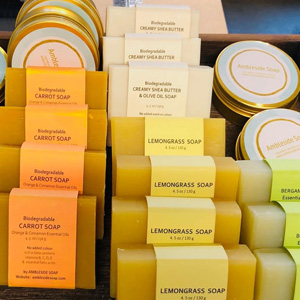 Ambleside Soaps on Kimi Designs Buy Local