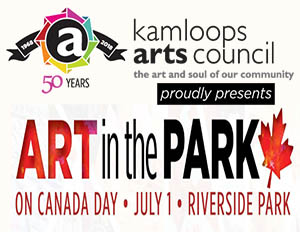 Kimi Designs at Art in The Park by the Kamloops Arts Council