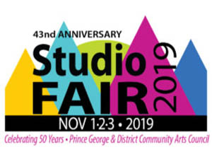 Kimi Designs at Studio Fair 2019 - Prince George and District Community Arts Council