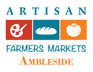 Kimi designs at the Ambleside Artisan Farmer's Market