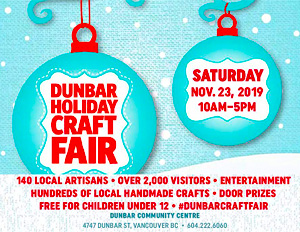 Kimi Designs at the Dunbar Holiday Craft Fair