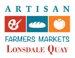 Kimi Designs at the Lonsdale Artisan Farmer's Market Logo