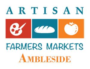 Ambleside Artisan Farmer's Market Logo for Kimi Designs Shows