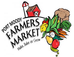 Kimi Designs at Port Moody Farmer's Market Logo - Make, Bake, or Grow